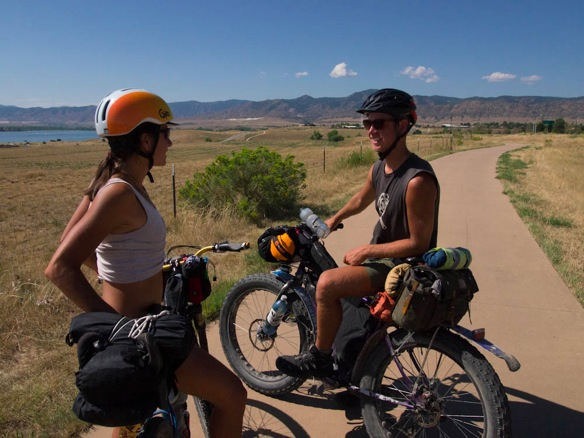 Bike Colorado Trail the Colorado Trail follow